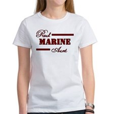 Proud Marine Aunt Tee