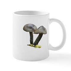 Gray Brown Mushroom Mug #8