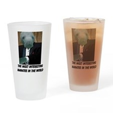 Funny Most interesting man in the world Drinking Glass