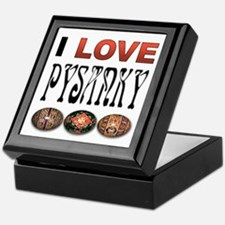 I love Pysanky 2 Keepsake Box
