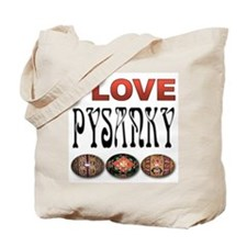 I love Pysanky 2 Tote Bag