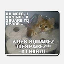 Kitteh Lulz Mousepad