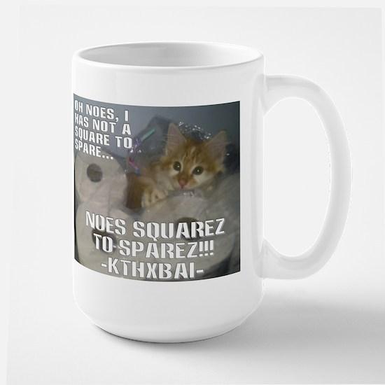 Kitteh Lulz Large Mug