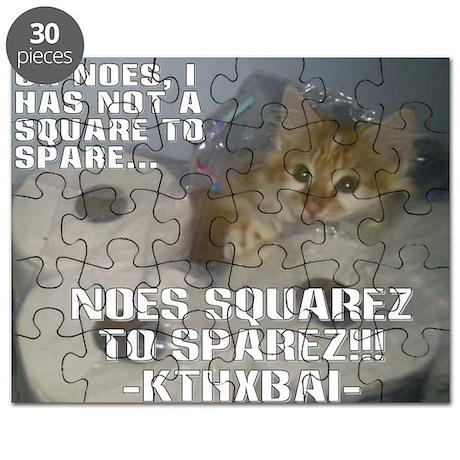 Kitteh Lulz Puzzle