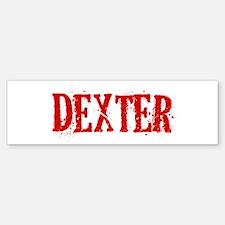 Dexter Bumper Bumper Sticker