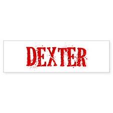 Dexter Bumper Stickers