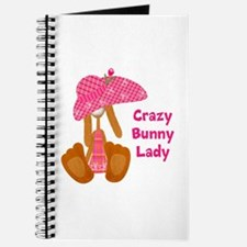 Customizable: Bunny Lady Journal