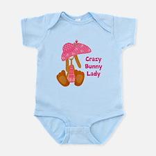 Customizable: Bunny Lady Infant Bodysuit