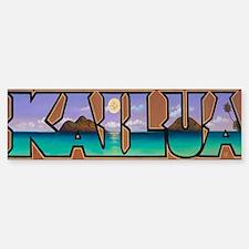 Kailua Lanikai Beach Bumper Bumper Sticker