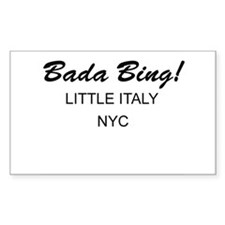 Bada Bing! Rectangle Decal
