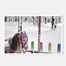 Cute Serbian christmas Postcards (Package of 8)