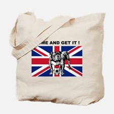British Bulldog Tote Bag