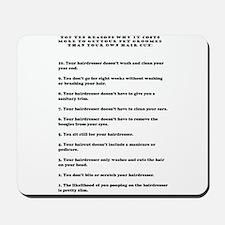 Top ten reasons why grooming Mousepad