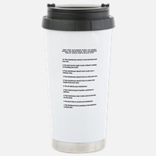Top ten reasons why grooming Travel Mug