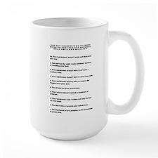 Top ten reasons why grooming Mug