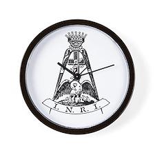 Scottish Rite 18th Degree Wall Clock