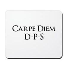 Carpe Diem Quoted Products Mousepad