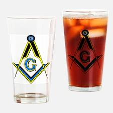 S&C Freemasonry Drinking Glass