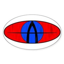 The Animal's Custom Oval Decal