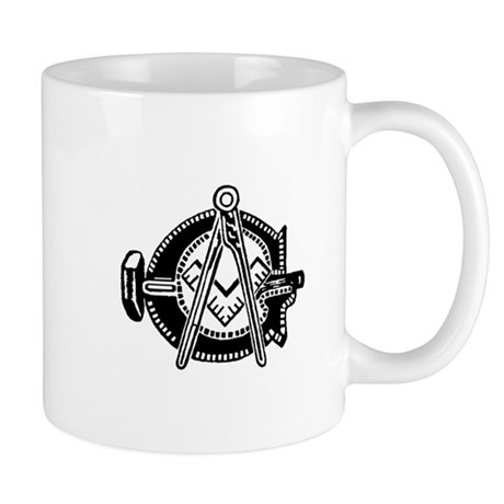 Hammer with Square and Compas Mug