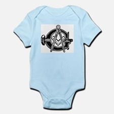 Hammer with Square and Compas Infant Bodysuit