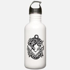 Ivy Square and Compasses Water Bottle