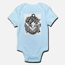 Ivy Square and Compasses Infant Bodysuit