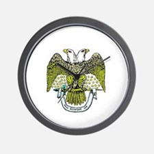 Scottish Rite Freemasonry Wall Clock