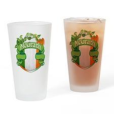 McGrath Shield Drinking Glass