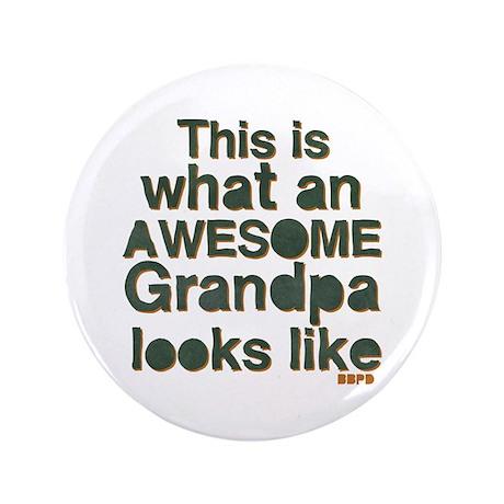 """Awesome Grandpa 3.5"""" Button"""