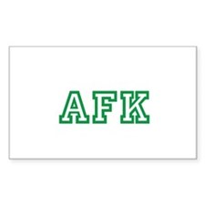 University of AFK Decal