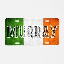 Murray Shield Aluminum License Plate