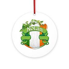 Nolan Shield Ornament (Round)