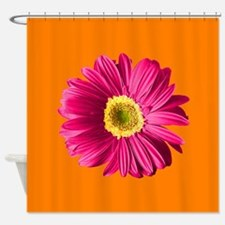 Cute Hot pink Shower Curtain