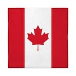 Canadian Flag Queen Duvet