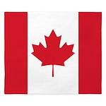 Canadian Flag King Duvet