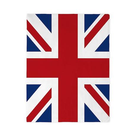 United Kingdom Union Jack Flag Twin Duvet