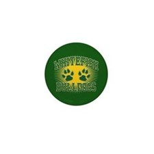 Whitefish Bulldogs Tackle & T Mini Button