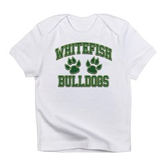 Whitefish Bulldogs Tackle & T Infant T-Shirt