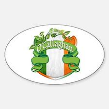 O'Callaghan Shield Sticker (Oval)