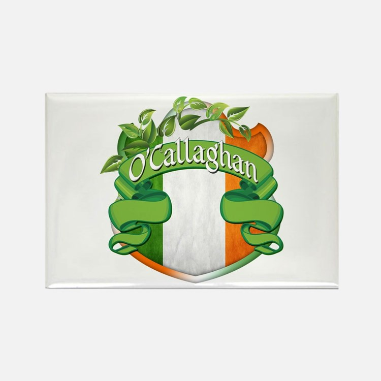 O'Callaghan Shield Rectangle Magnet