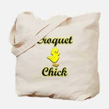 Croquet Chick Tote Bag
