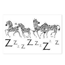 Zebra Z's Postcards (Package of 8)