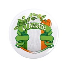 "O'Keeffe Shield 3.5"" Button"