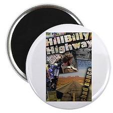 "Hill Billy Highway 2.25"" Magnet"