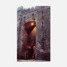 Bunratty Castle, Ireland Rectangle Decal