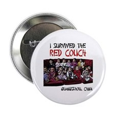 "Red Couch 2.25"" Button (100 pack)"