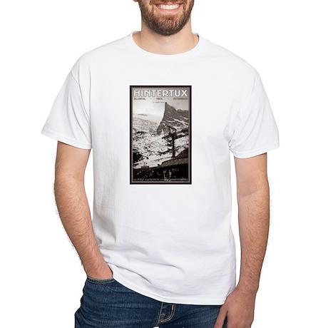 Hintertux - Kleine Kaserer White T-Shirt