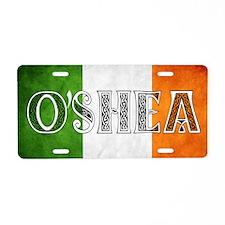 O'Shea Shield Aluminum License Plate