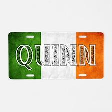 Quinn Shield Aluminum License Plate